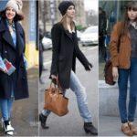 Модные женские джинсы осень-зима 2017-2018 новинки фото