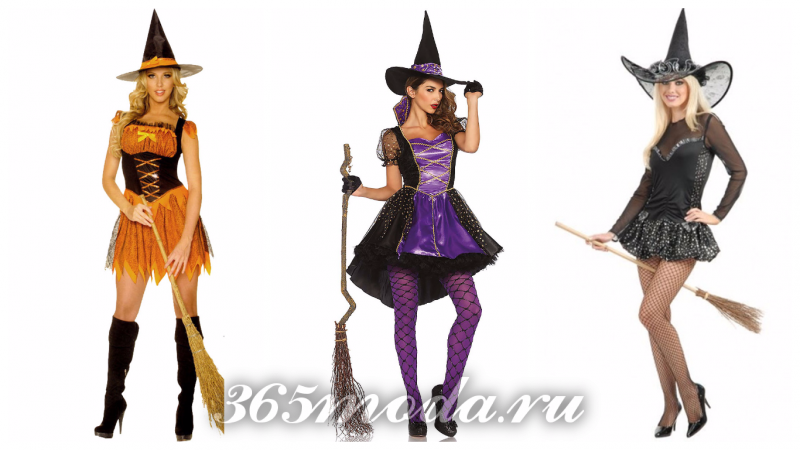 костюм ведьмы на хеллоуин 2018