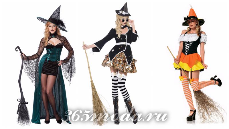 костюм ведьмы на хеллоуин 2021
