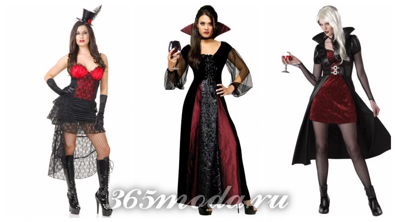 вампир костюм на хеллоуин 2018