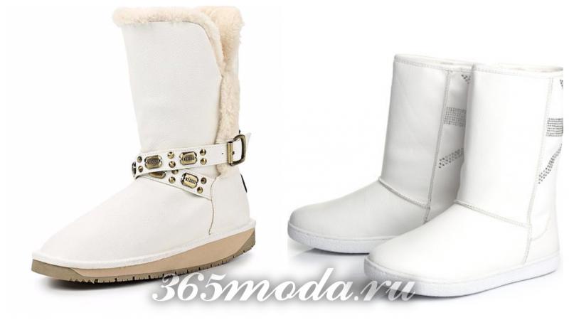 модные угги осень-зима 2019-2020: декор