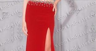модная юбка с разрезом