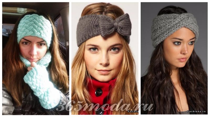 красивые повязки на голову