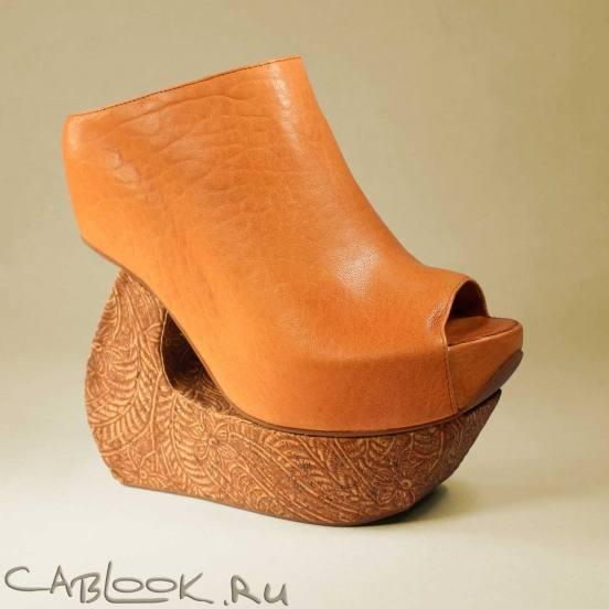 обувь на высокой платформе