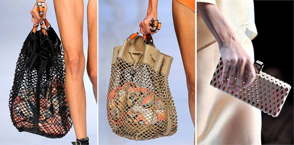 модная сумка авоська