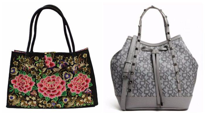 модная сумка шоппер: с принтами
