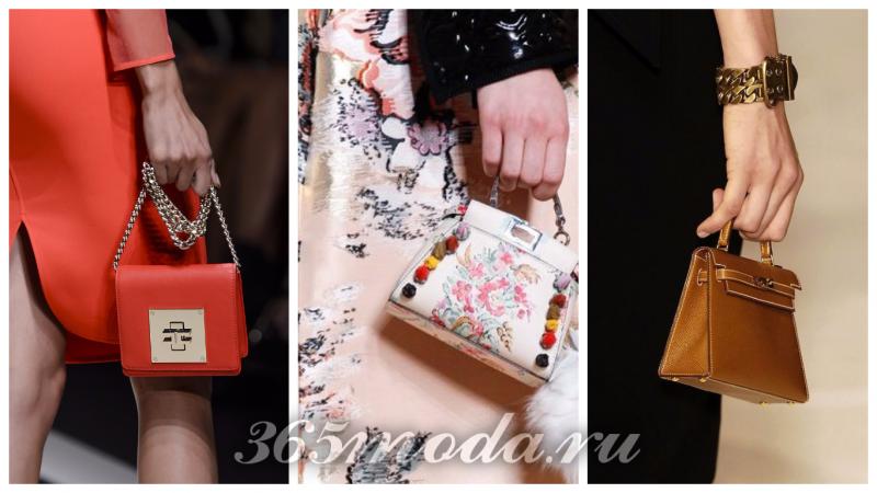 сумки-лилипуты тренд сезона