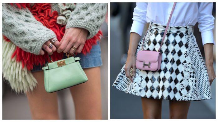 модные сумки-лилипуты
