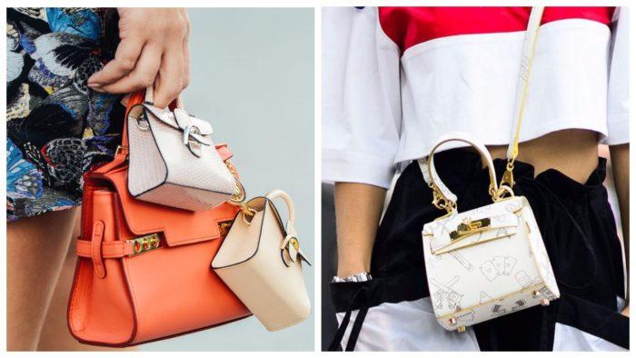 стильные сумки-лилипуты