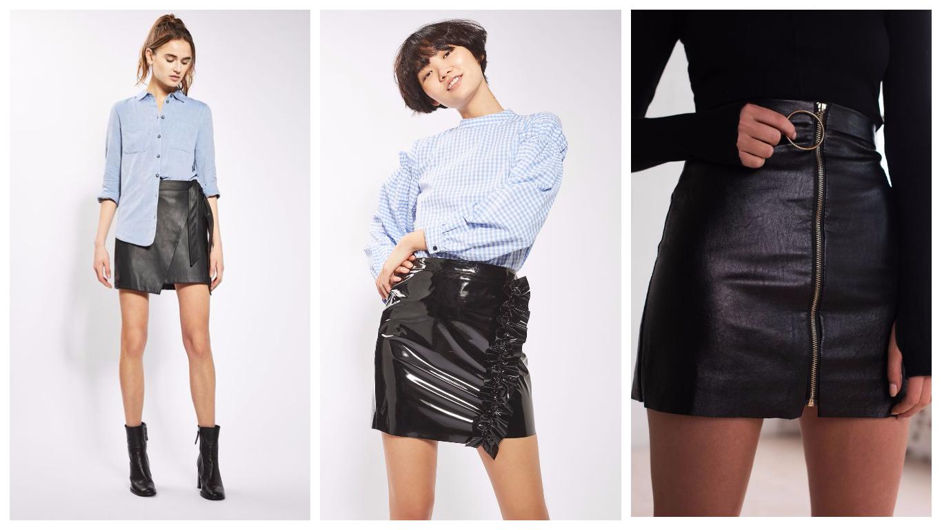 Короткие юбки 2018