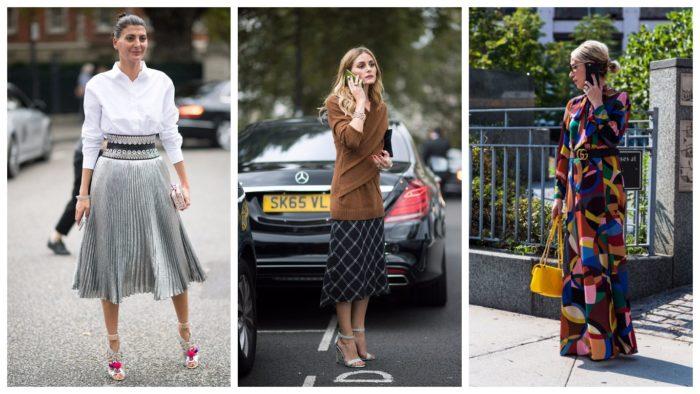 модные юбки в уличном стиле