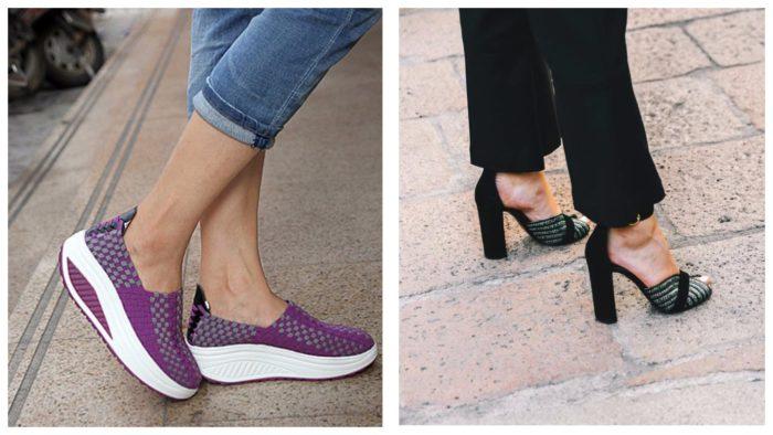 Уличная мода осень-зима 2019-2020: обувь