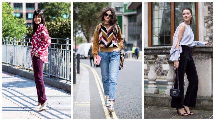 уличная мода осень-зима: свитера