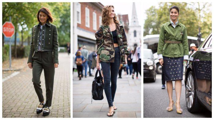 уличная мода осень-зима: жакеты
