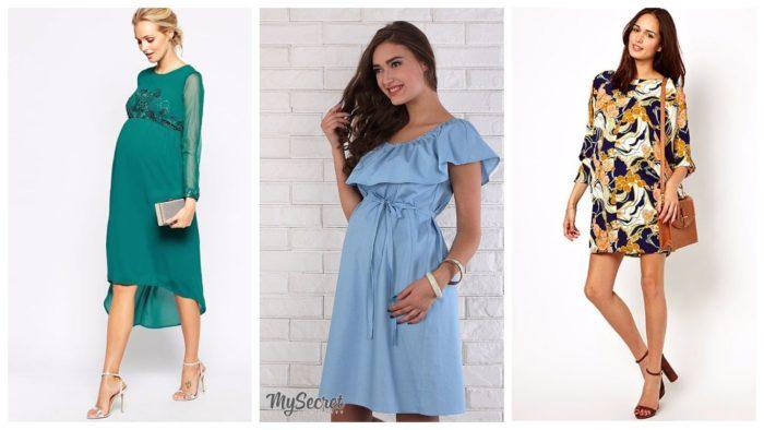 модные платья для беременных