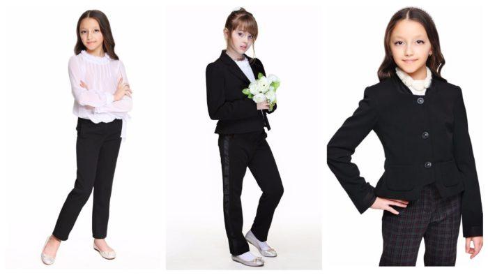 модные ткани для школьной формы