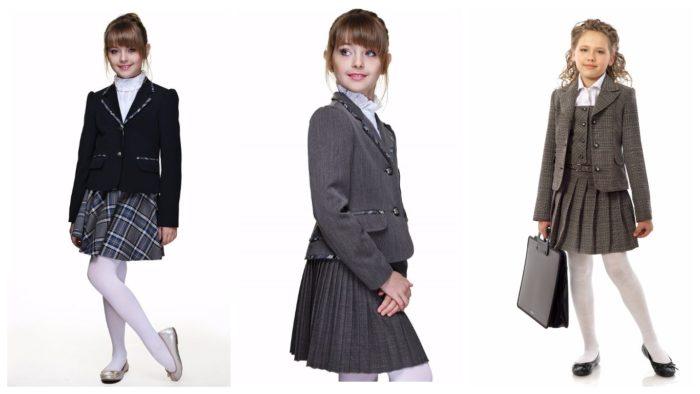 модные цвета школьной формы