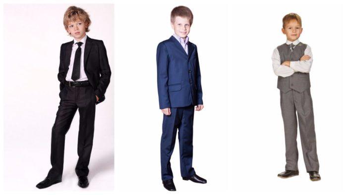 модные школьные костюмы для мальчиков