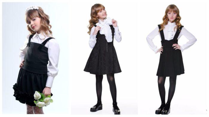 модные школьные сарафаны