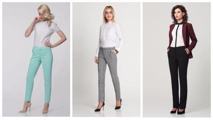 женские брюки осень-зима 2019-2020: классические