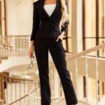 О модном женском деловом костюме осень-зима 2018 2019 года: фото