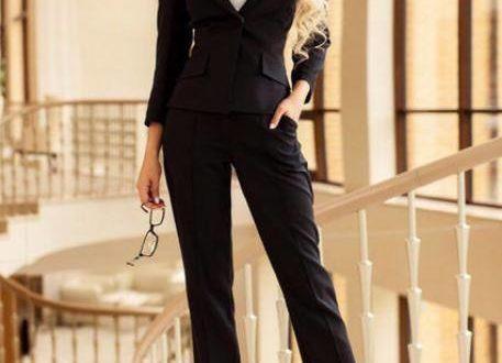 модные деловые костюмы