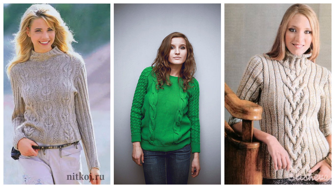 Модные свитера осень-зима 2019-2016
