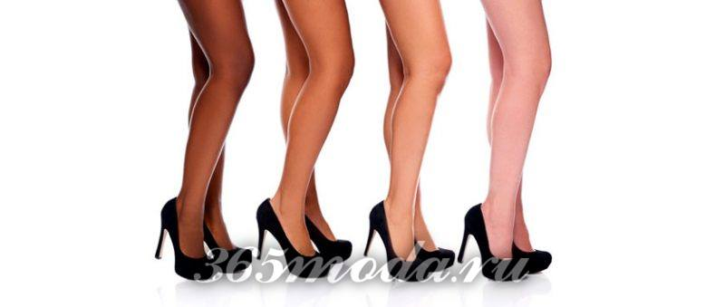 как выбрать колготки: красивые ножки в черных туфлях