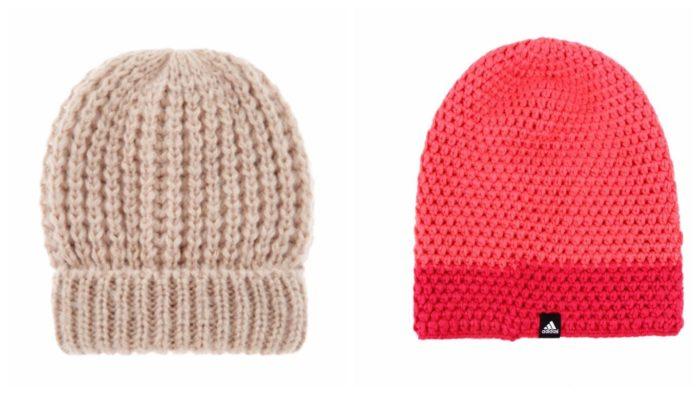 модные шапки бини