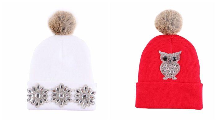 модные шапки с декором