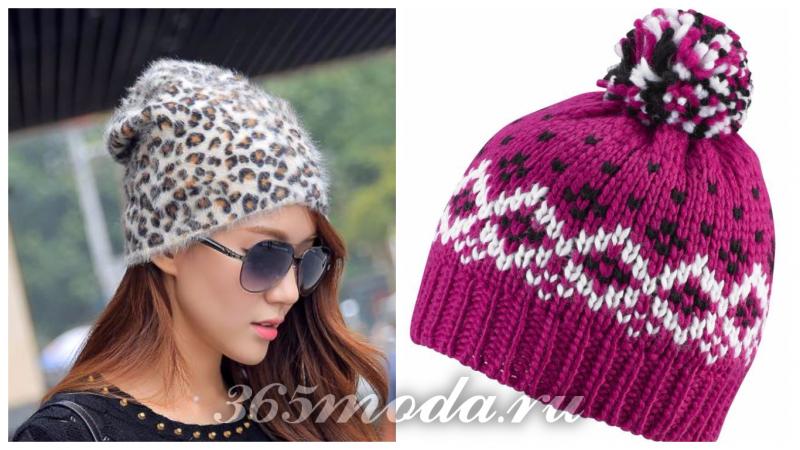 модные принты шапок