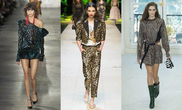 модные образы: платья с принтами