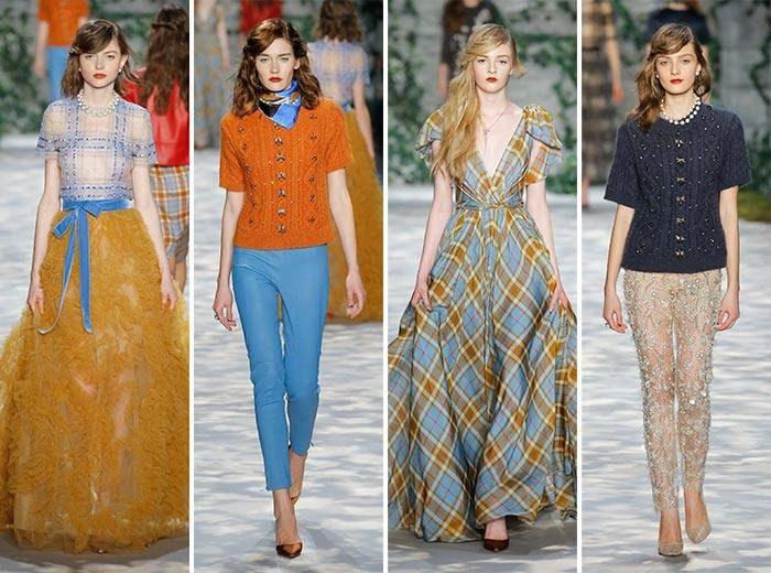 модные образы: пышные платья