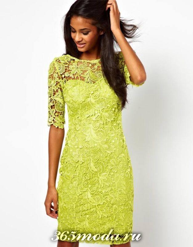 кружевное платье на новый год