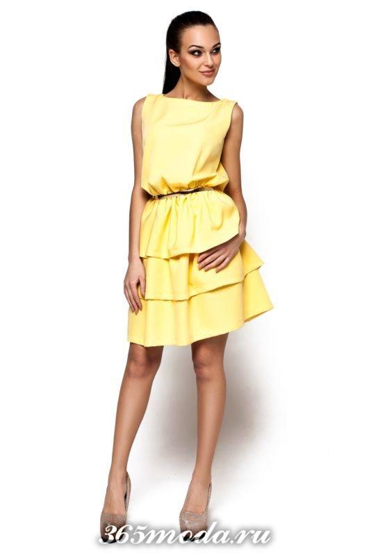 стильное новогоднее платье