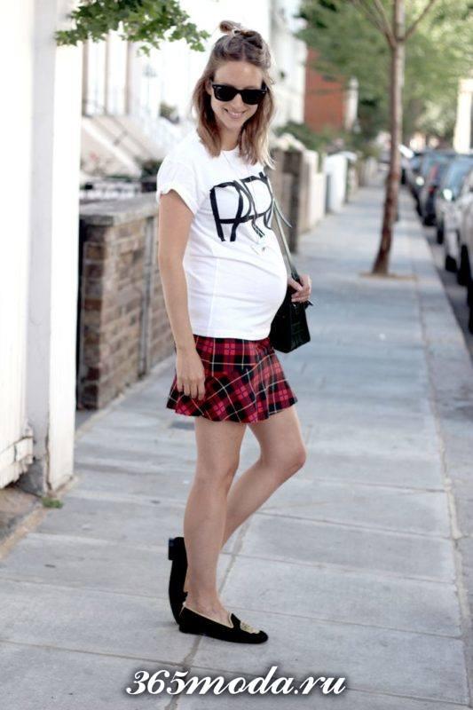 стильные образы для беременных