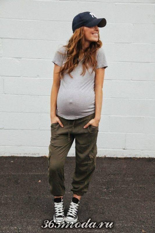 спортивный стиль для беременных