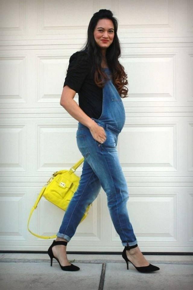 модная повседневная одежда для беременных