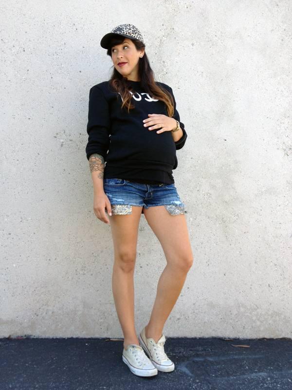 одежда в спортивном стиле для беременных