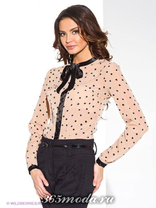 блузка принт