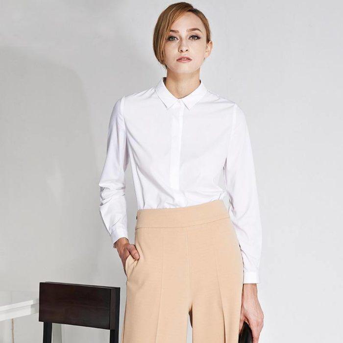 модные блузы в деловом стиле