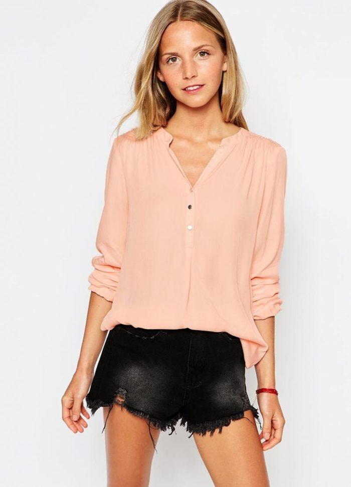 как выбрать блузу