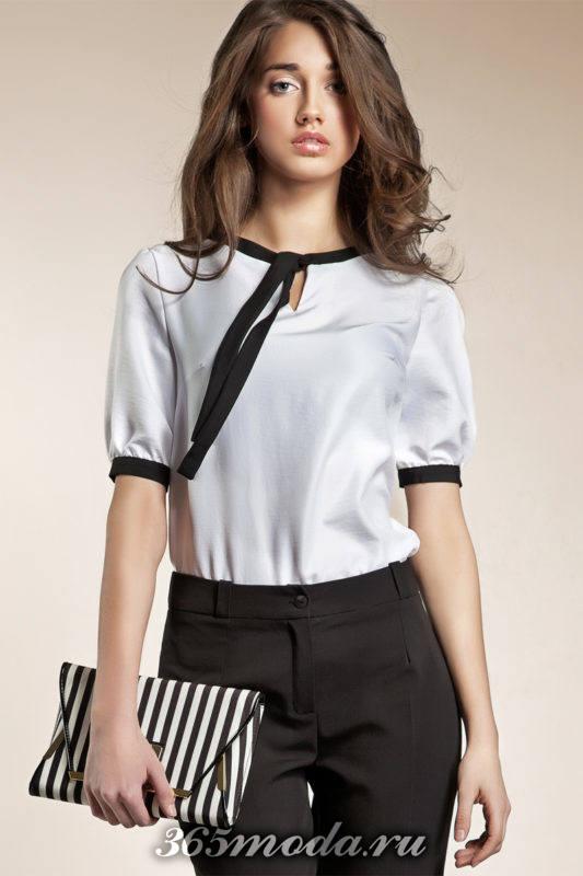 модные блузы с тесьмой