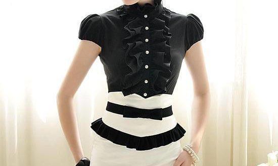 О модной блузке и женской рубашке весна-лето 2021:фото