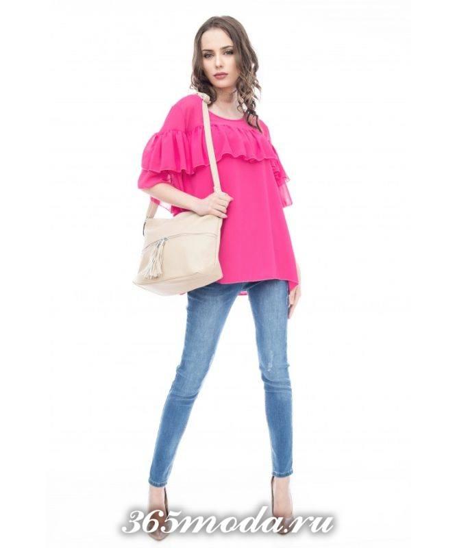модные фасоны сезона для блуз