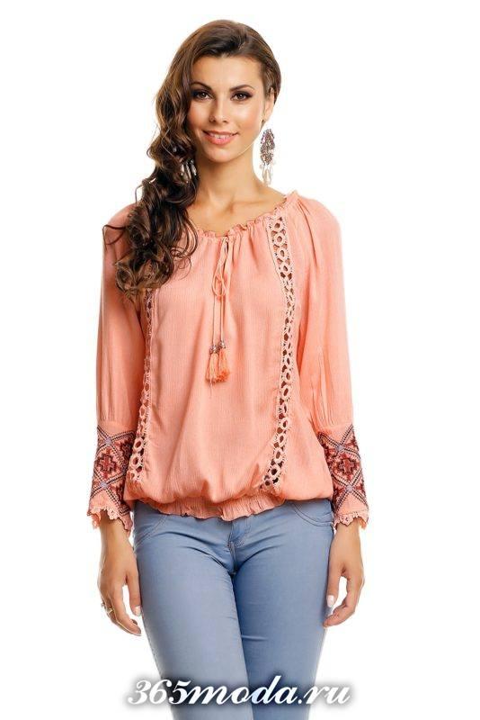 модные фасоны блуз