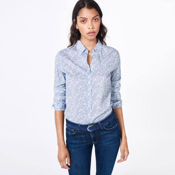 модные классические блузы и рубашки