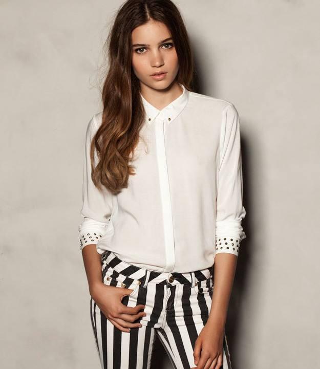 модные классические блузы