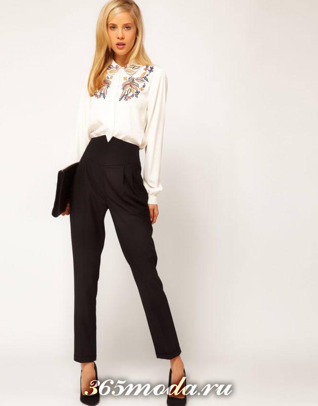 модные блузы декор