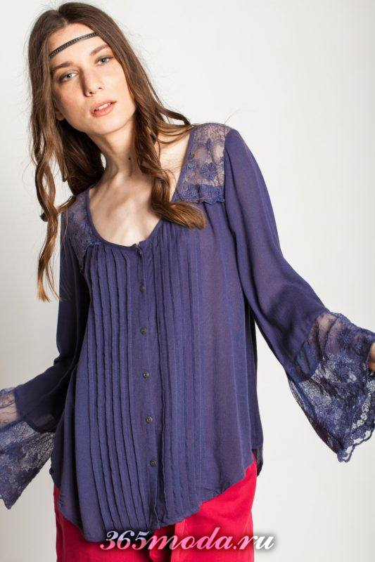 блузы удлиненного фасона